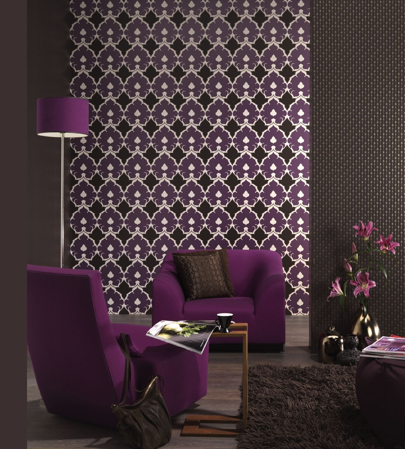 1000  images about kleur in je interieur: paars on pinterest ...