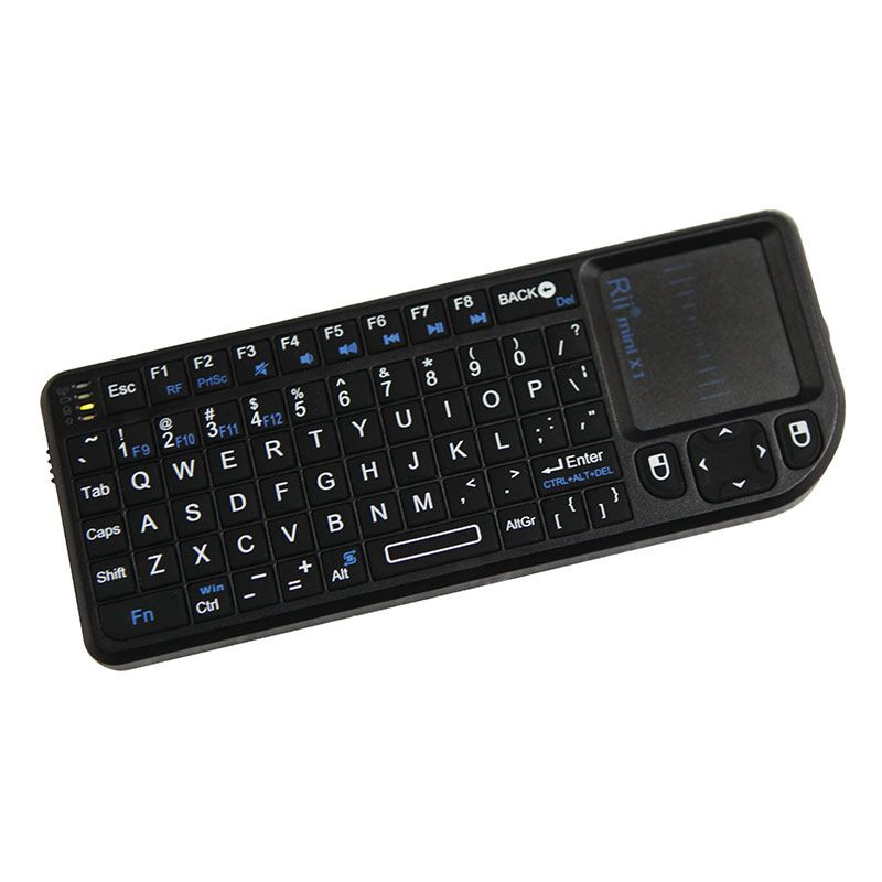 Rii Mini Handheld 2.4G Wireless Keyboard Touchpad Mouse Gaming Keyboard for Laptop PC Notebook Smart TV Android TV BOX