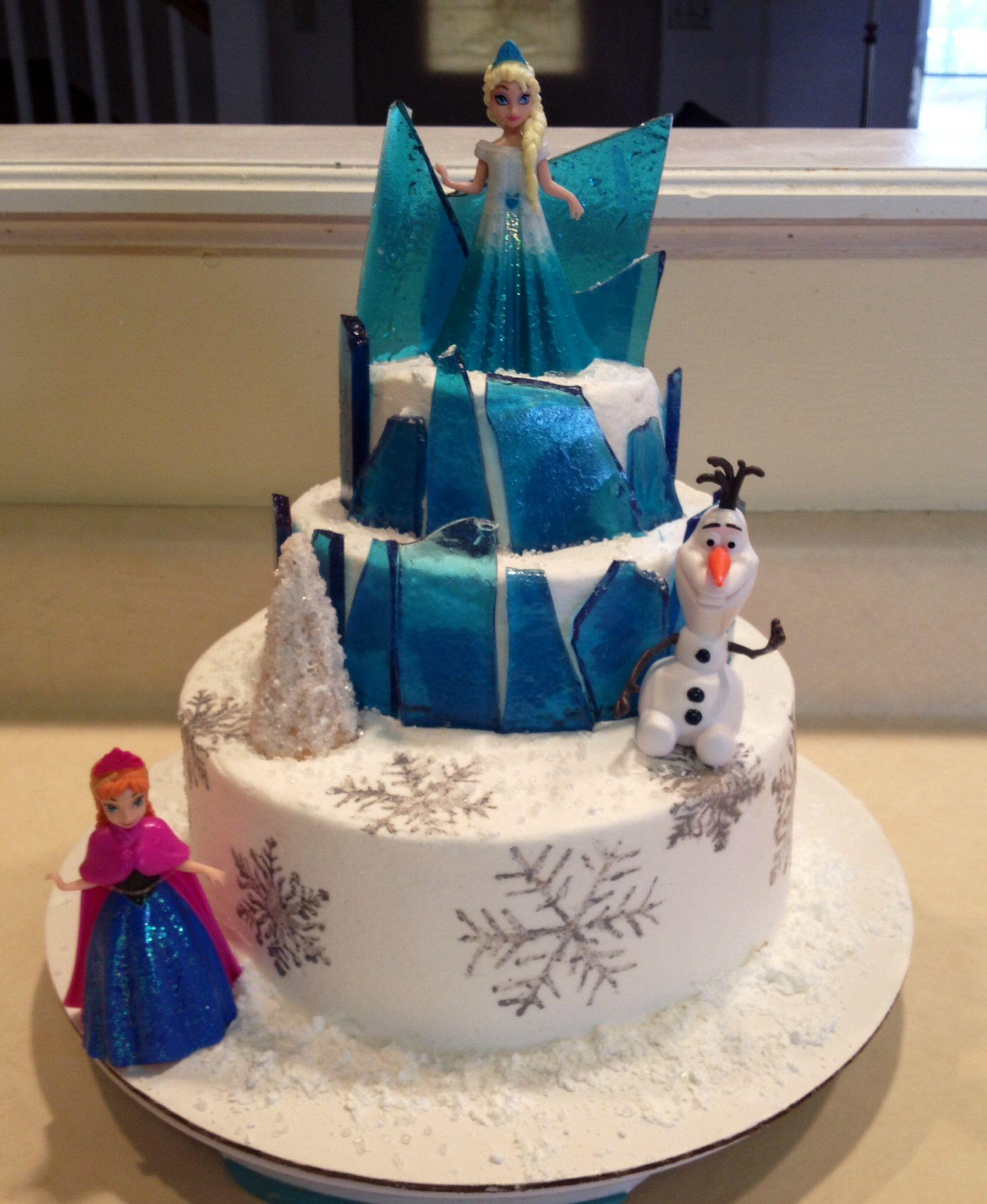 Frozen Theme Cake Supplies Party Invitations Ideas