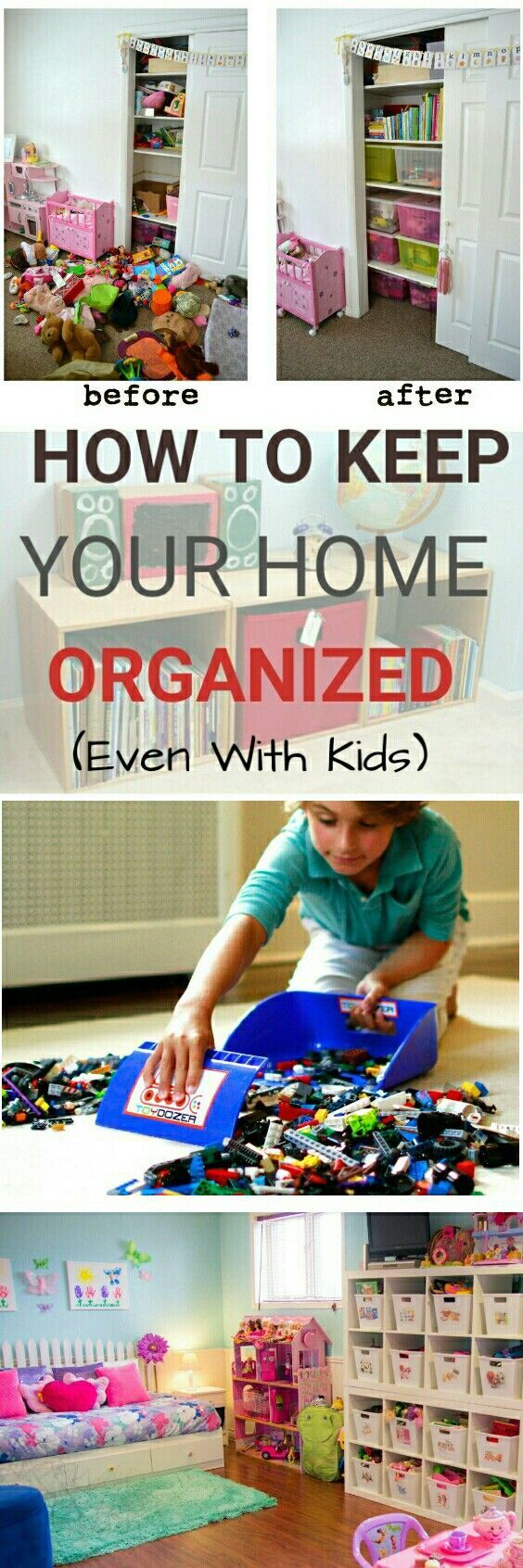 11 Tips For Keeping Kids Toys Organized: 7 Daily Habits To Keep Your Home Organized Even With Kids