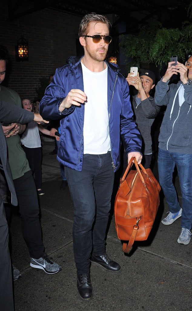 Ryan Gosling from The Big Picture: Today's Hot Pics  Fan frenzy!  The actor is seen in Manhattan attracting attention from his adoring fans.