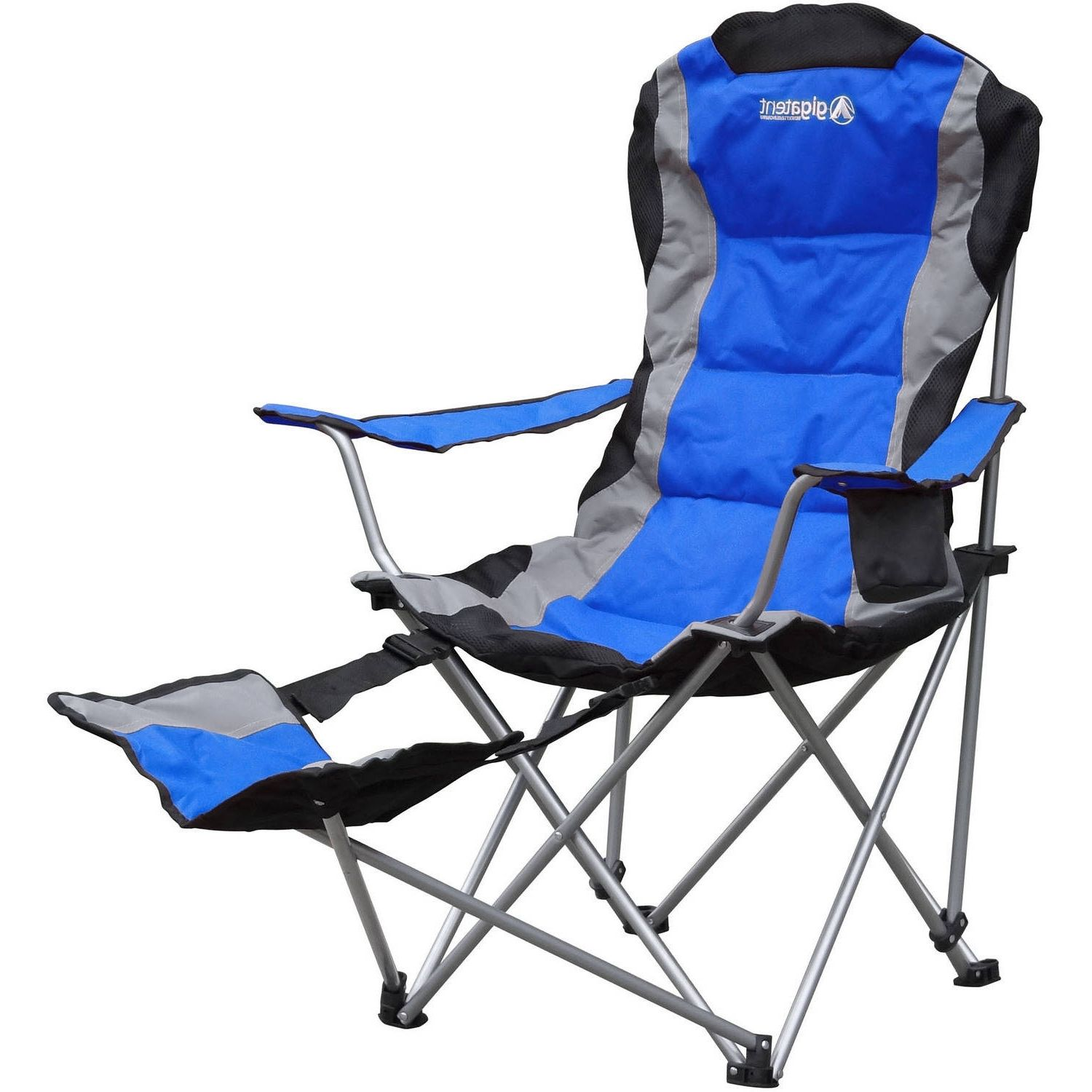 Folding Canopy Chair With Footrest