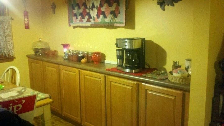 Best Create A Buffet By Installing Wall Cabinets As A Base 400 x 300