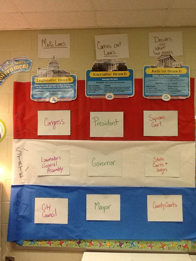 3 Levels And 3 Branches Of Government Government Lessons Social Studies Education Social Studies Middle School