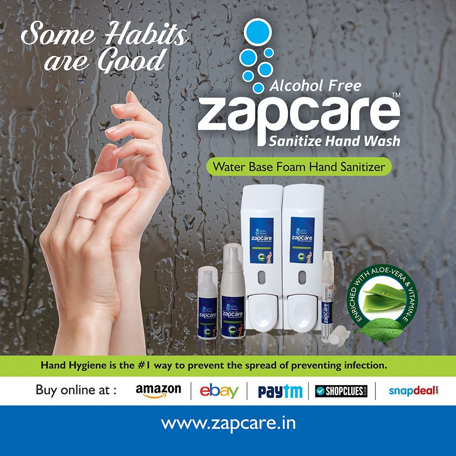 Www Zapcare In Best Alcohol Hand Sanitizer
