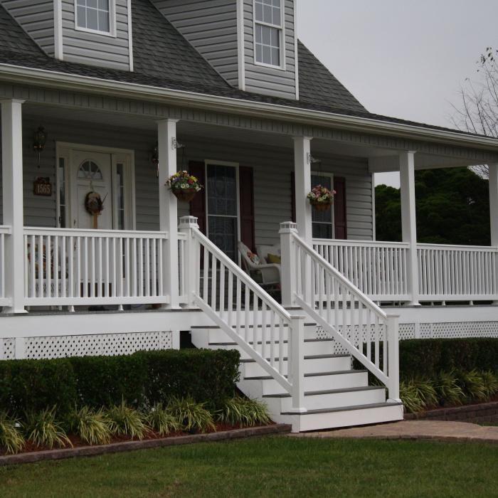 Safe Deck Railings Stairs: Vinyl Fence Wholesaler Deck Railings