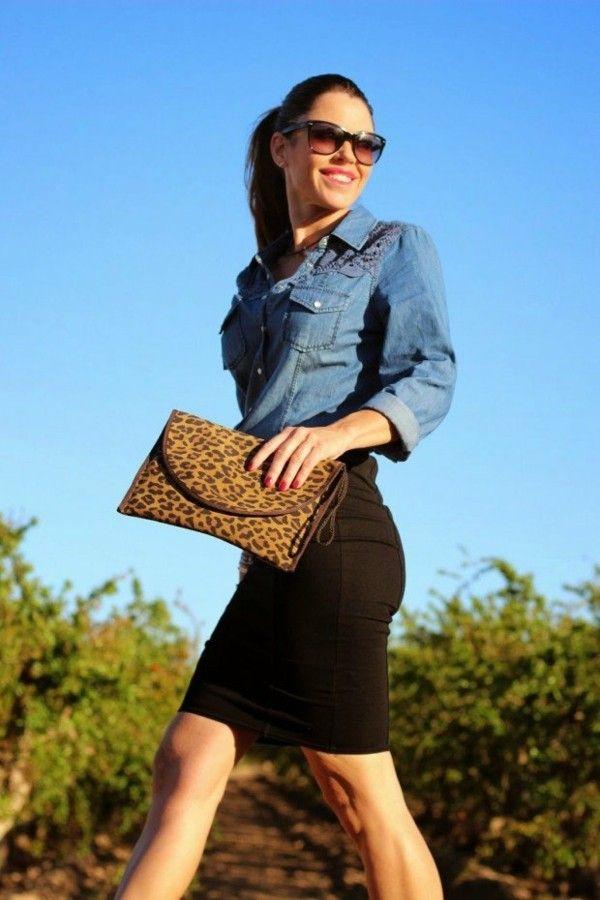 1ce675d1d0800d Les jupes crayon - 35 façons de les porter avec style et classe ...