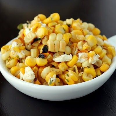 Grilled Corn Salad on Pinterest | Summer Corn Salad, Roasted Corn ...