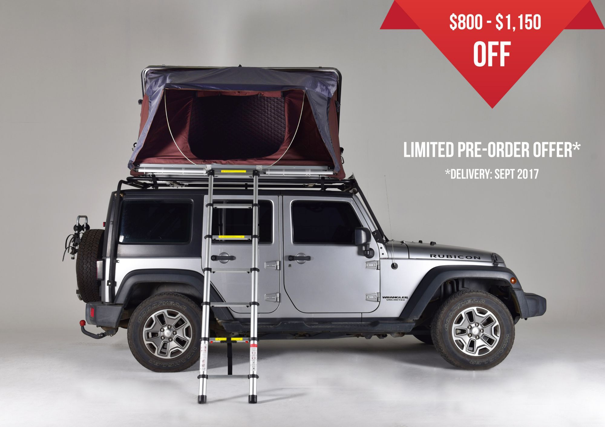 Jeep Wrangler Camper Van Roof Top Tent Ikamper Campervan Ideas