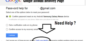 Here are Google account recovery page is an first and last