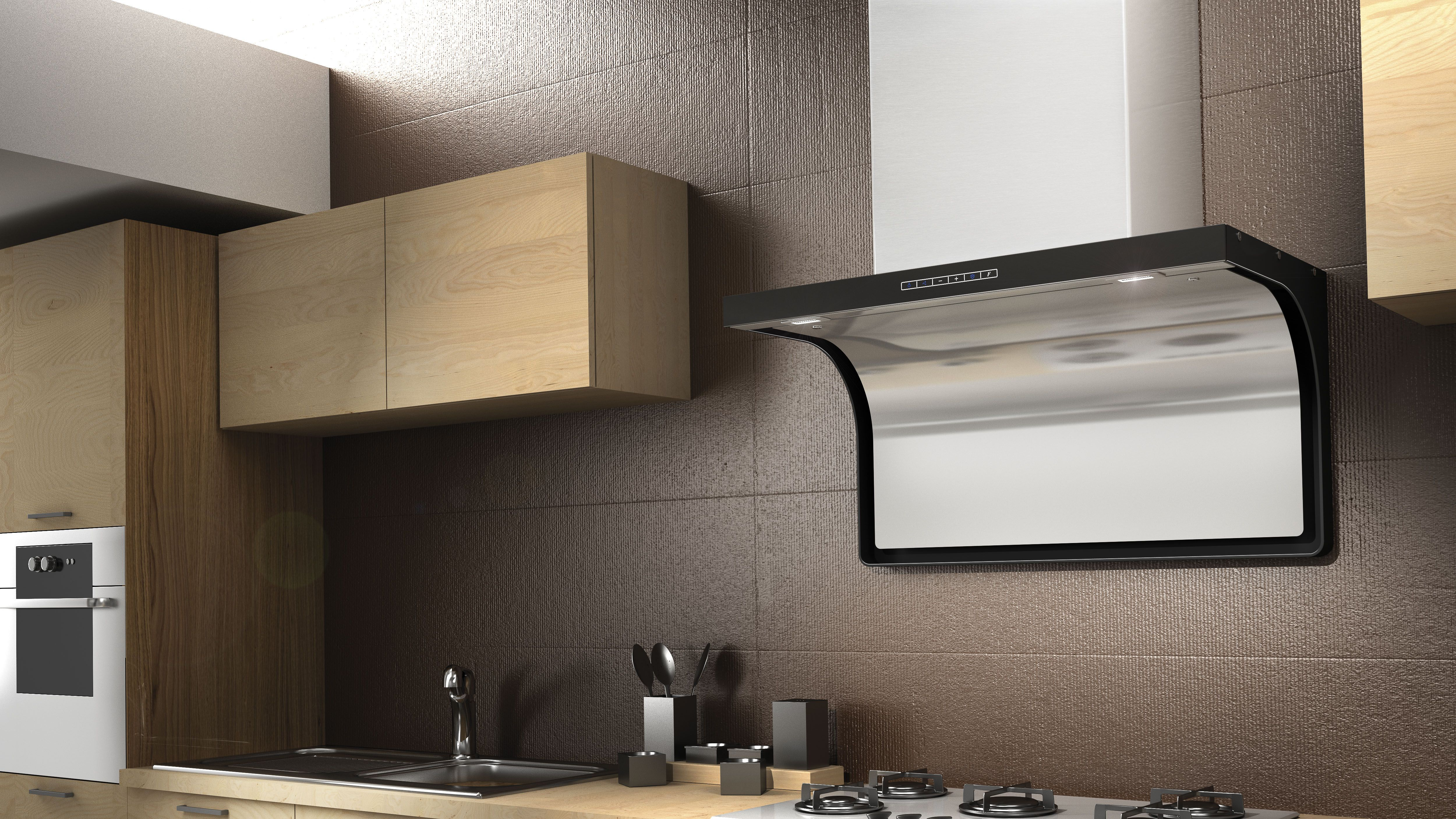F135 Led house airforce cooker hoods hauben hotte