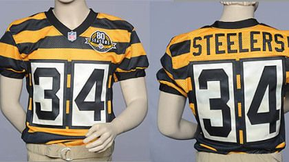 newest collection d80e8 4b36c Steelers look to 1934 for new throwback uniform | NFL Teams ...