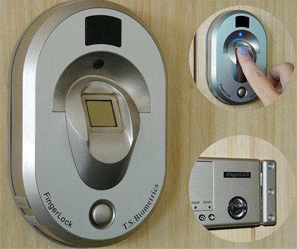 using thumbprint door lock for your house biometric door knob - Biometric Door Lock