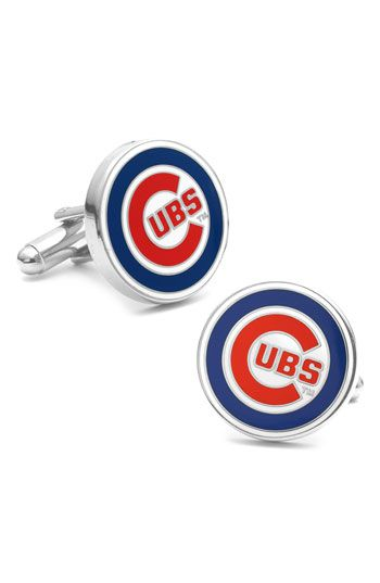 Cufflinks, Inc. 'Chicago Cubs' Cuff Links available at #Nordstrom