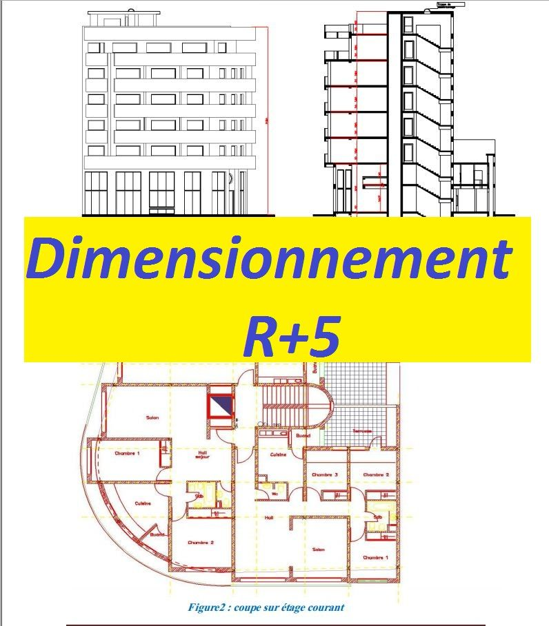 dimensionnement bton arm r3 rapport de stage ingnieur
