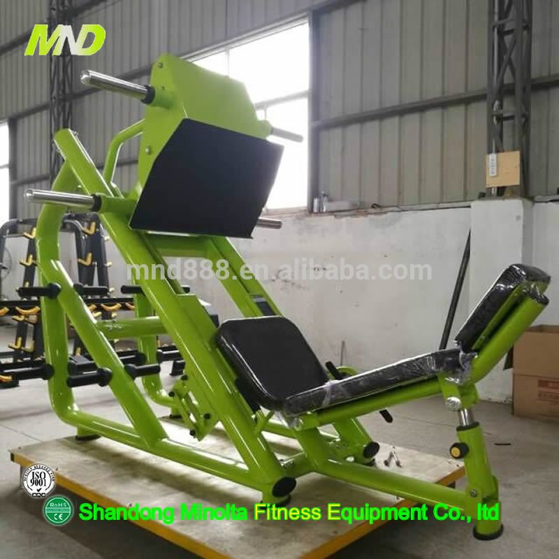 Hot Sale Bodybuilding Equipment Commercial Fitness Equipemnt Gym Use 45 Leg Press Commercial Fitness Bodybuilding Equipment Home Gym