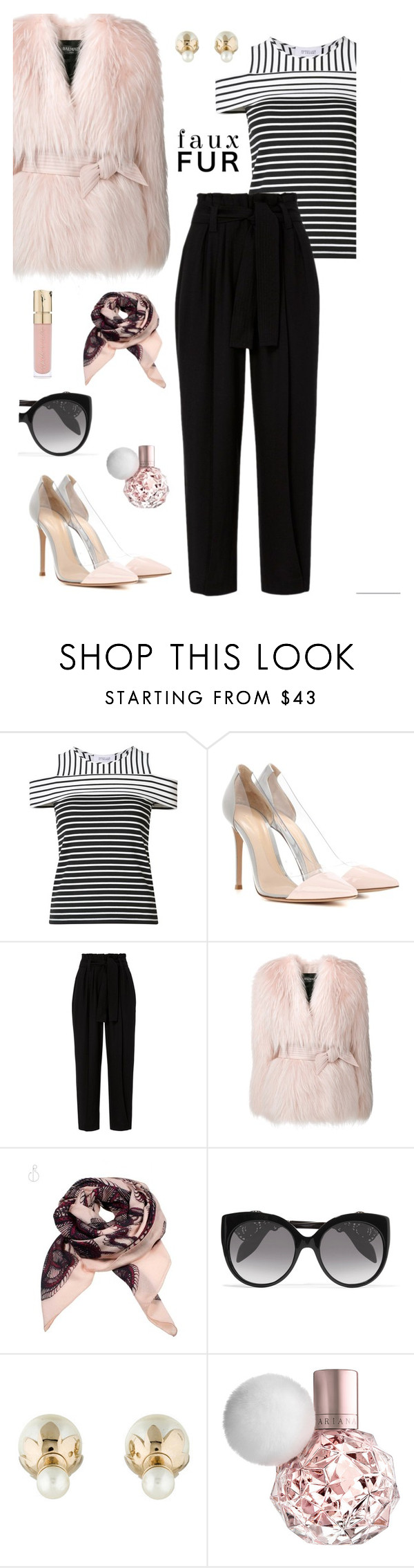 """""""Untitled #408"""" by maylamartha on Polyvore featuring 10 Crosby Derek Lam, Gianvito Rossi, A.L.C., Balmain, White Label, Alexander McQueen, Christian Dior and Smith & Cult"""