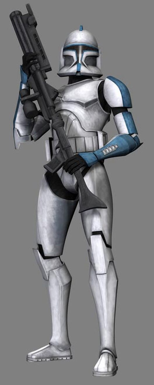 Doric Is A Veteran Clone Trooper Sergeant Who Served In The 501st Legion S Torrent Company In The Early Months Of Star Wars Clone Wars Star Wars Clone Trooper