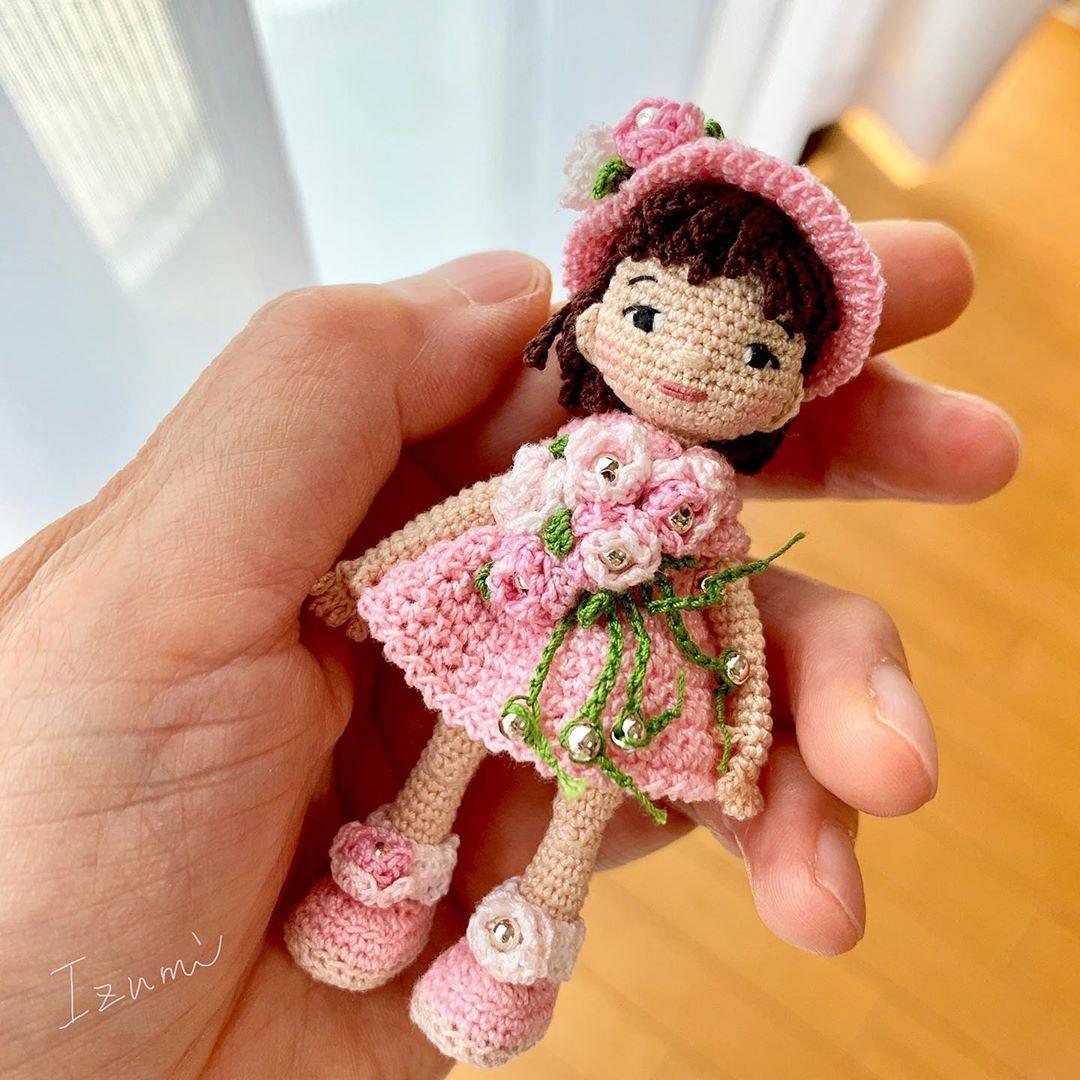 #crochet #crochetdoll #doll #amigurumi #handmade #handmadedoll #あみぐるみ #クロッシェドール #かぎ針編み #人形 #ドール #crochetdoll