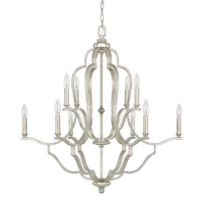 Blair 10 Light Candle Chandelier - http://chandelierspot.com/blair-10-light-candle-chandelier-589909290/