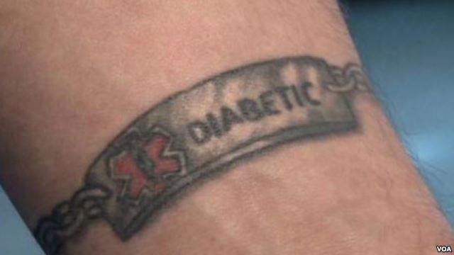 Diabetes Tattoo Ink
