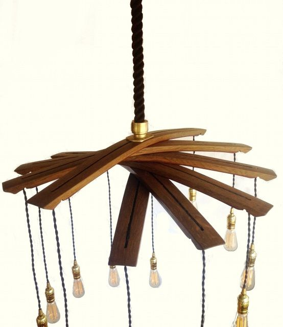 Recycled wine barrel staves large 12 lights chandelier lighting recycled wine barrel staves large 12 lights chandelier aloadofball Gallery