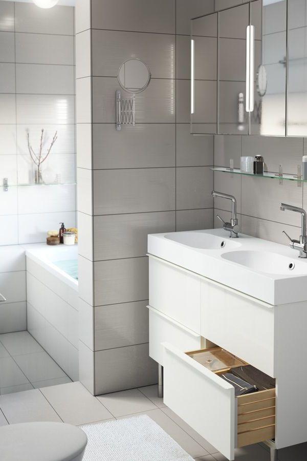 Badezimmermöbel ikea qualität  IKEA Badmöbel - voller Funktionalität und Feinheit - Badezimmer ...