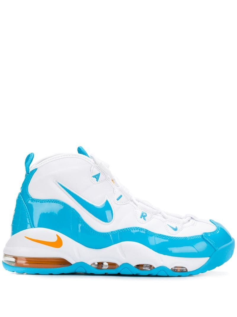Nike Air Max Uptempo 95 Blue Fury trainers White in 2019