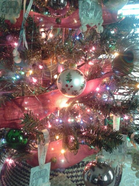 the tree was 1000 at the family dollar store the ornaments vintage a gift from - Family Dollar Christmas Decorations