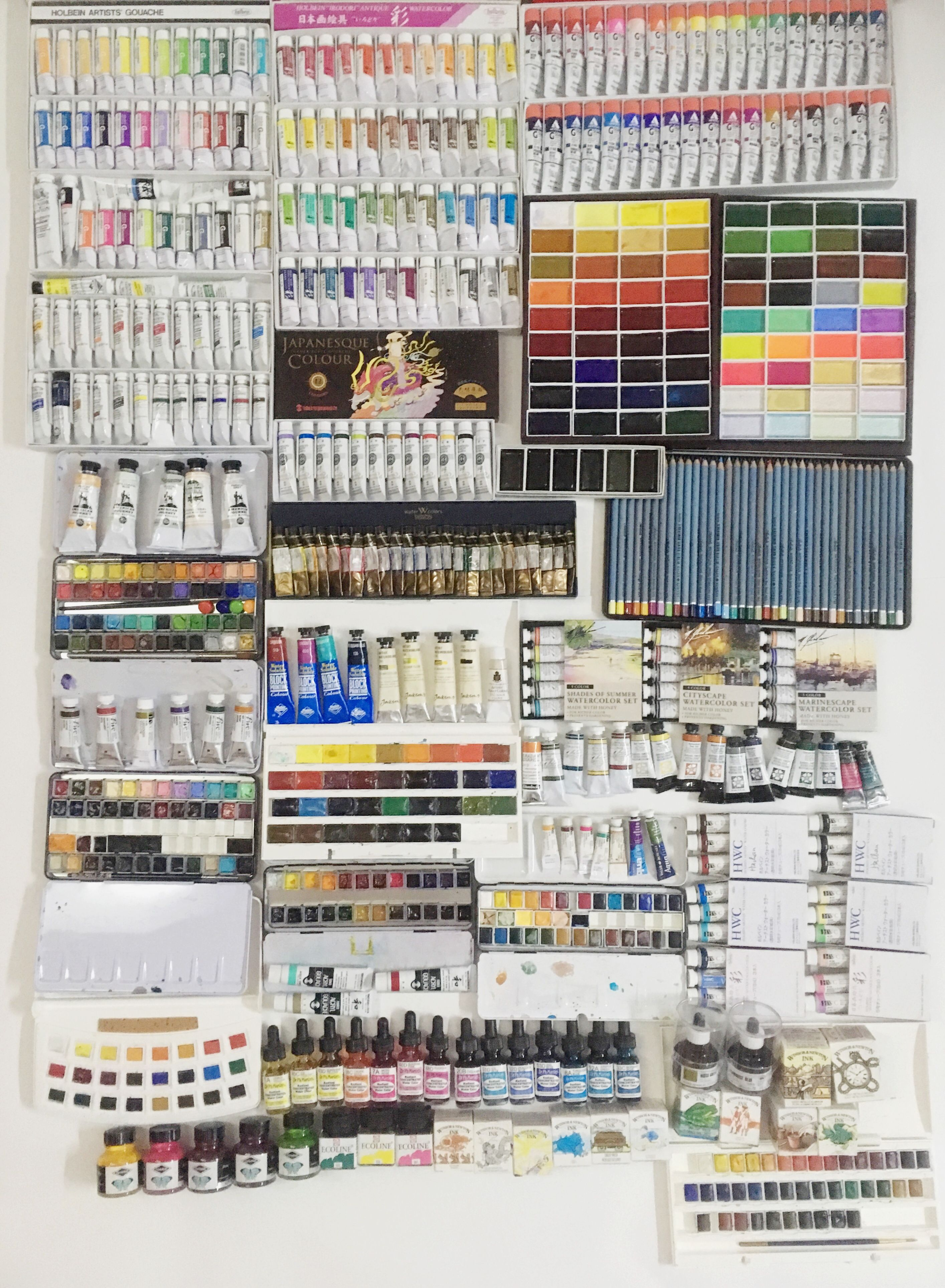Pin By Hachan Thuy Tien On Colour Charts Pinterest Art Studios
