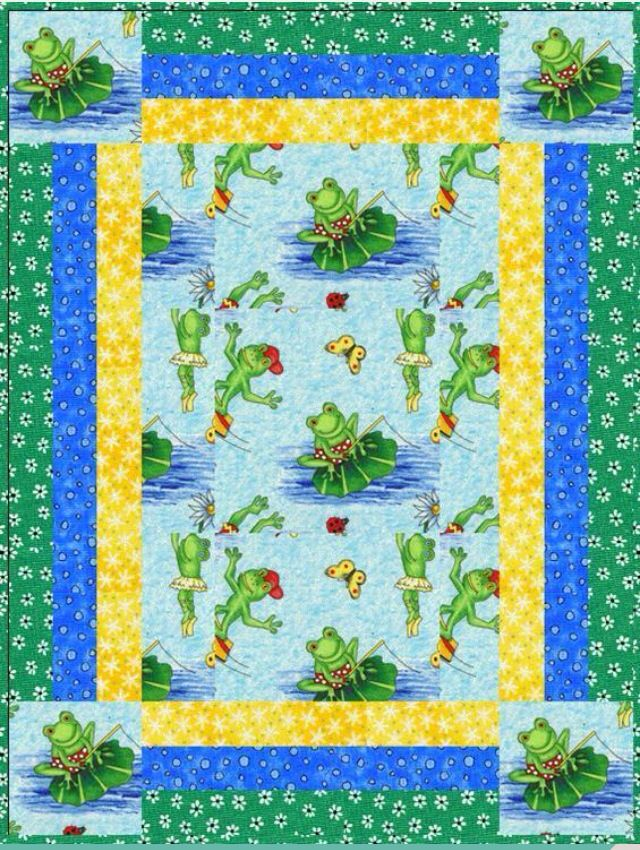 Frog Quilt