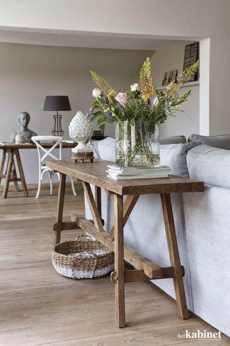 Inspiratie: Sidetable Achter De Bank | Wohn Esszimmer, Einrichten Und  Wohnen Und Wohnzimmer