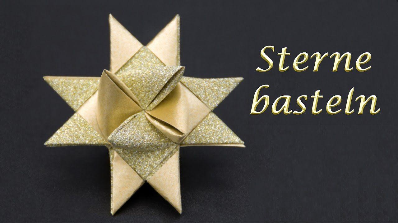 Sterne Basteln Zu Weihnachten Frobelsterne Falten Einfache