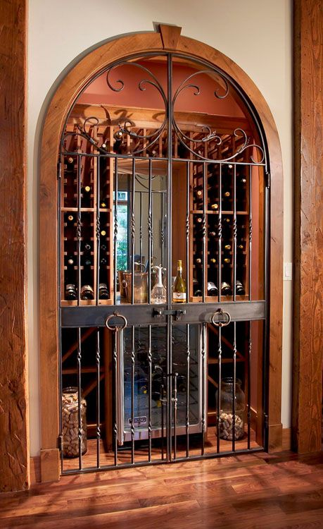 Good Use As Wine Cellar. | Ideas For The House | Pinterest | Wine Cellars,  Iron Gates And Gate