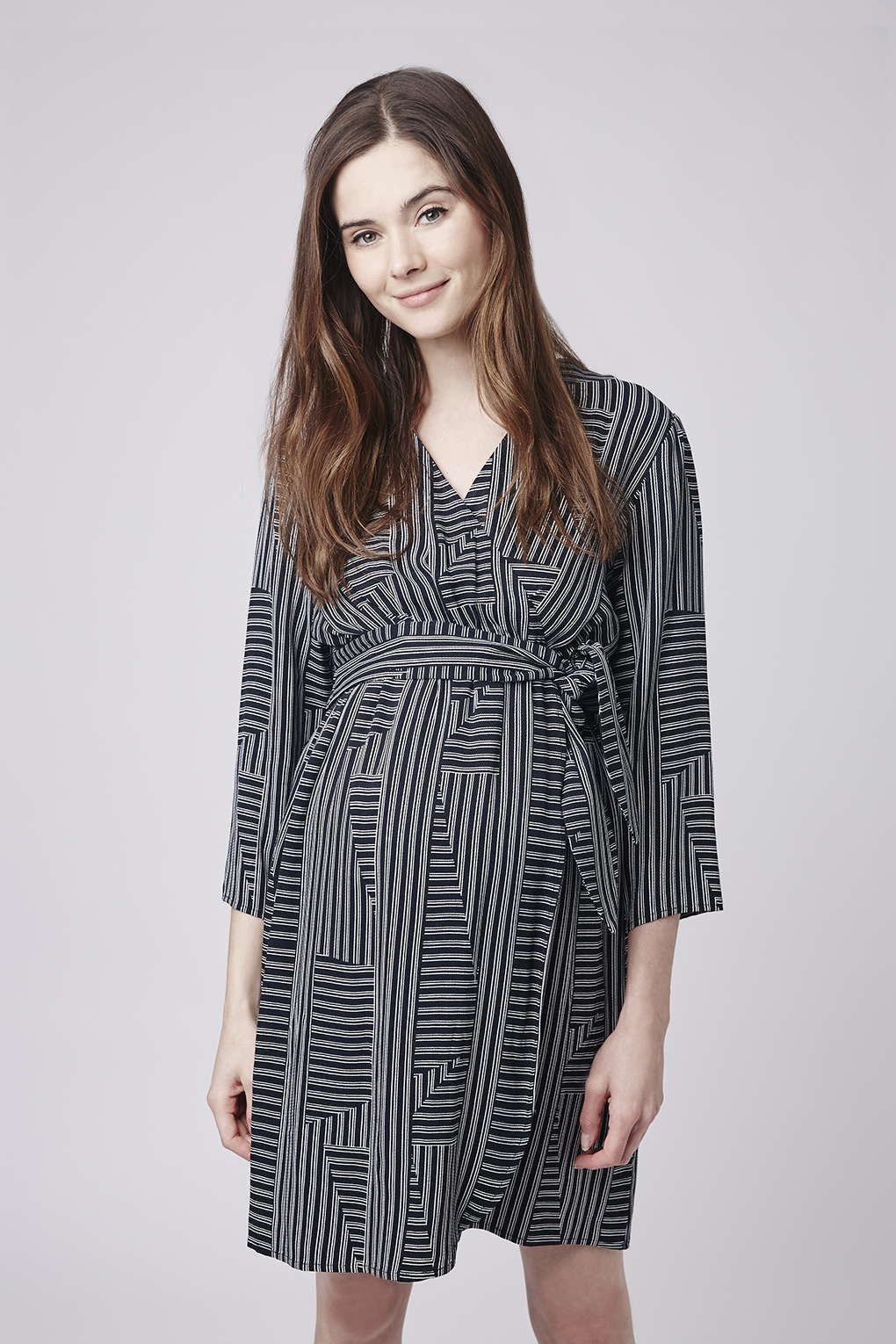 Maternity stripe wrap dress products topshop and dresses maternity stripe wrap dress ombrellifo Gallery