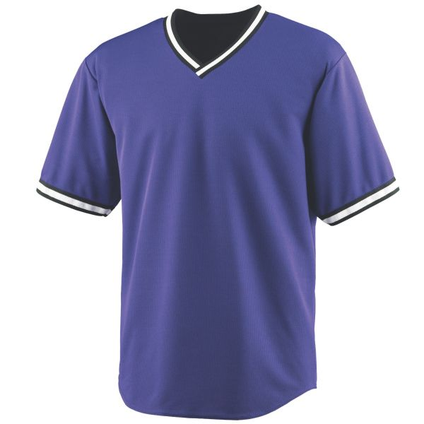 Wicking V Neck Baseball Jersey With Heat Sealed Label 100 Polyester Wicking Mesh Wicks Moisture Away From The Bod Augusta Sportswear Wicking Shirt Mens Tops