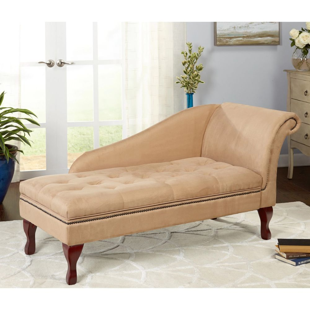 Modern Chaise Lounge Chairs Living Room Details About Chaise Lounge Chair Bedroom Lounge Storage Sofa