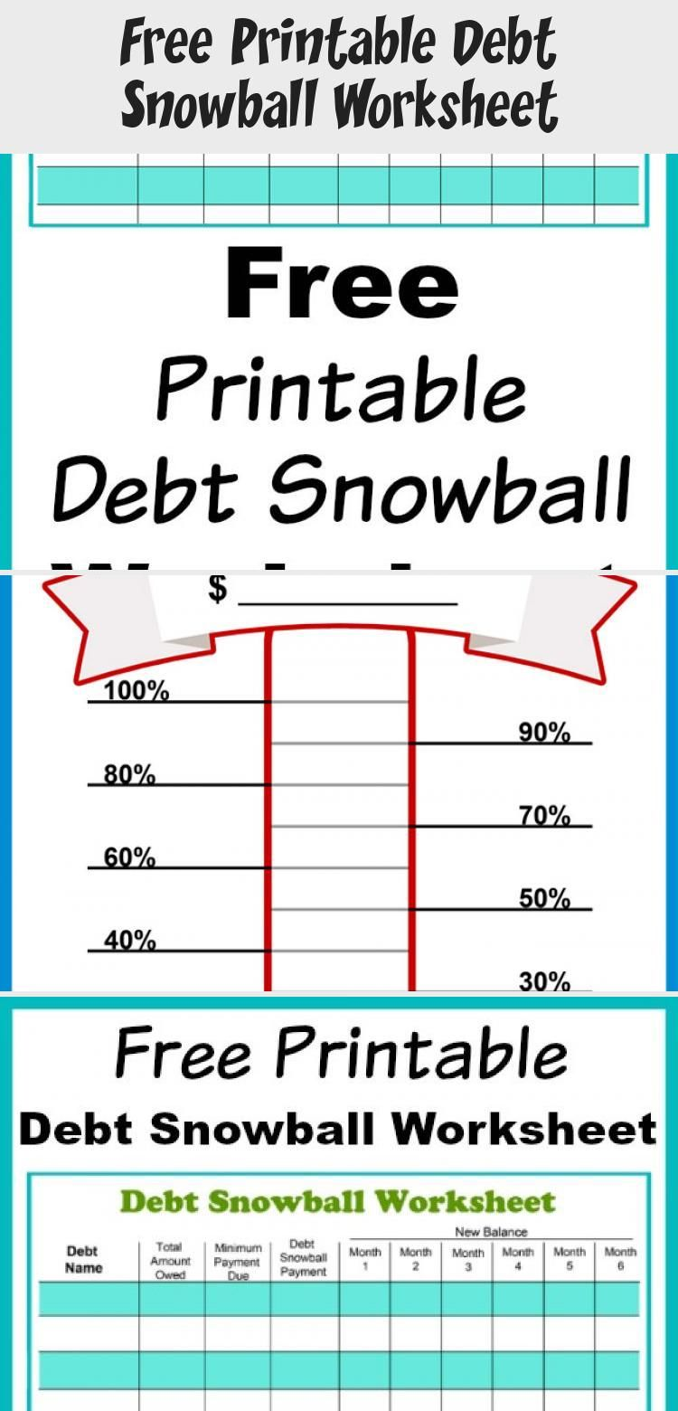 Free Printable Debt Snowball Worksheet Perhaps The Best Way To Pay Down Your Debt Is With The Debt Sn In 2020 Debt Snowball Worksheet Budgeting Finances Debt Snowball
