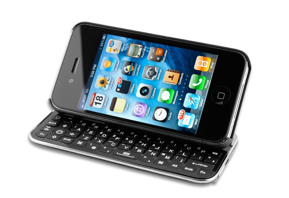 iPhone 4 Slideout Keyboard Case Iphone, Iphone 5