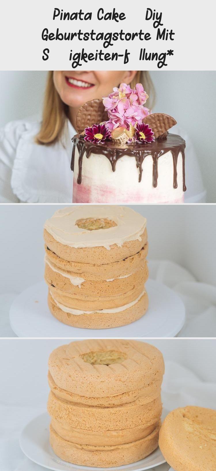 Photo of Pinata Cake – DIY Geburtstagstorte mit Süßigkeitenfüllung *, Überraschung in…