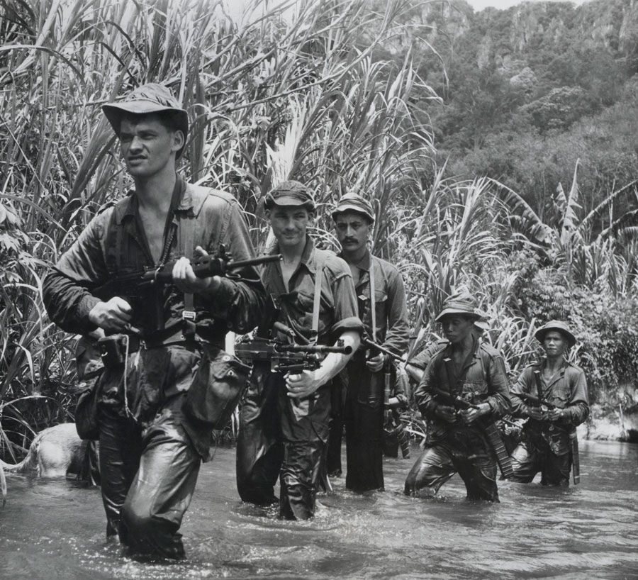 Image result for british vietnam jungle