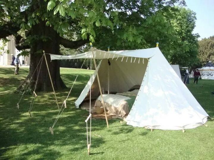 Double bell tent & Double bell tent | Medieval Tents | Pinterest