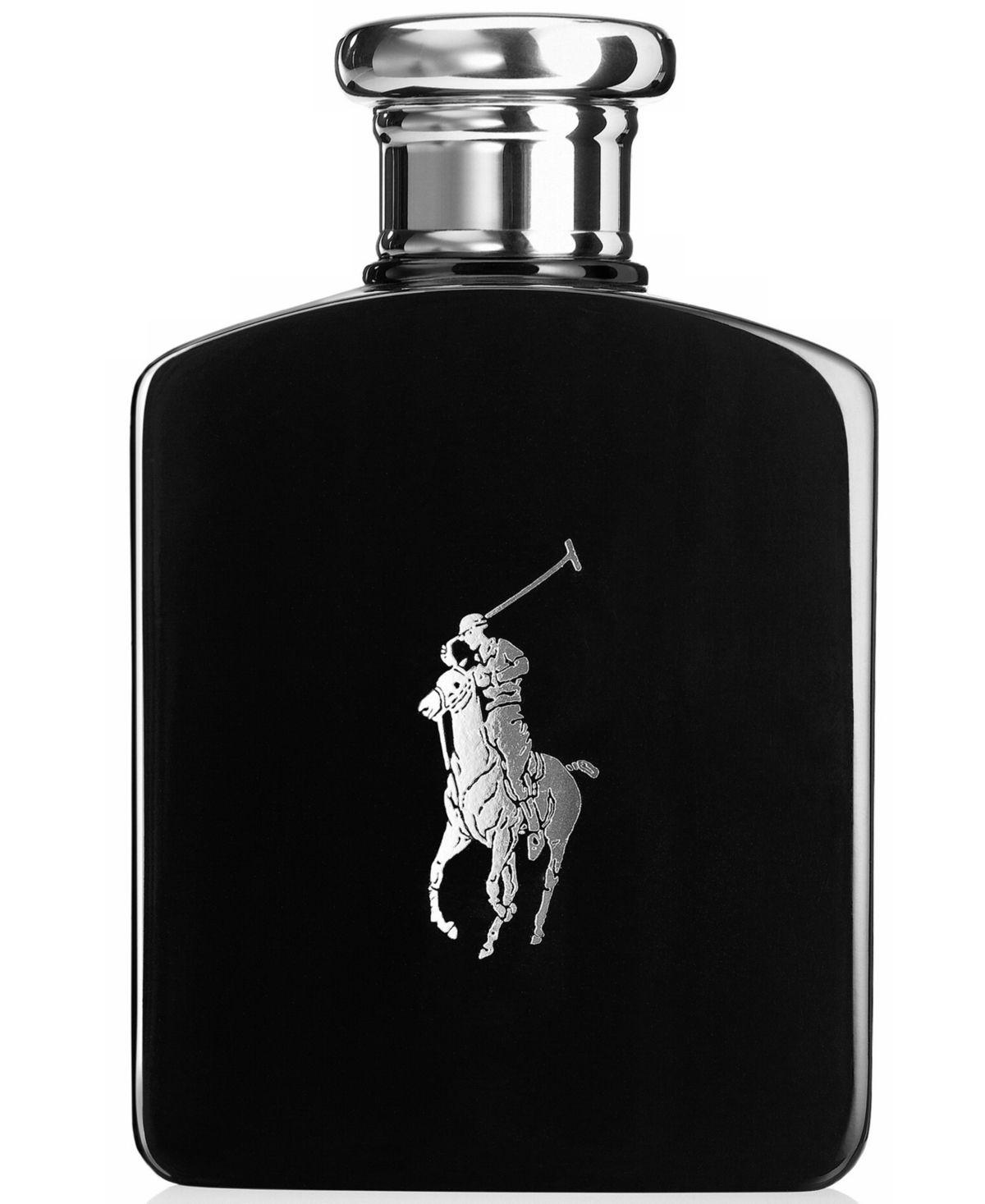 Ralph Lauren Men's Polo Black Eau de Toilette Spray, 2.5