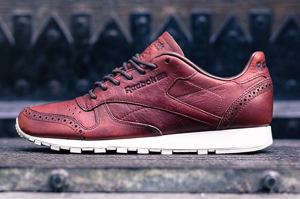Reebok Classic Leather Lux Horween 'Brogue' Just Brown (With