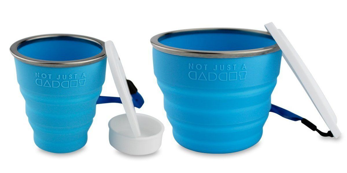 Amazon.com : Collapsible Travel Cup - 100% Food-grade Silicone Mug for Camping and Hiking - by Not Just A Gadget : Sports & Outdoors