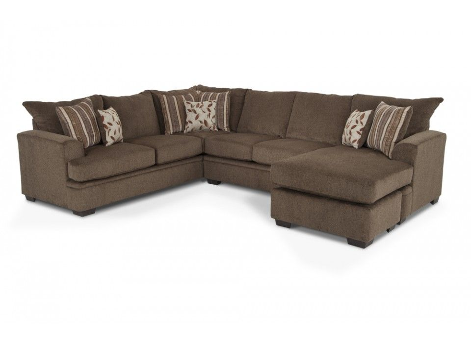 miranda 2 piece right side facing sectional living room sets