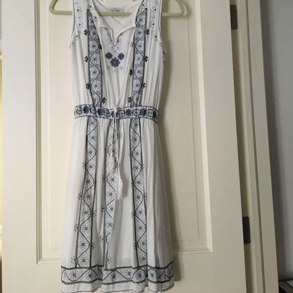 Max studio sleeveless cotton dress xs cotton and products