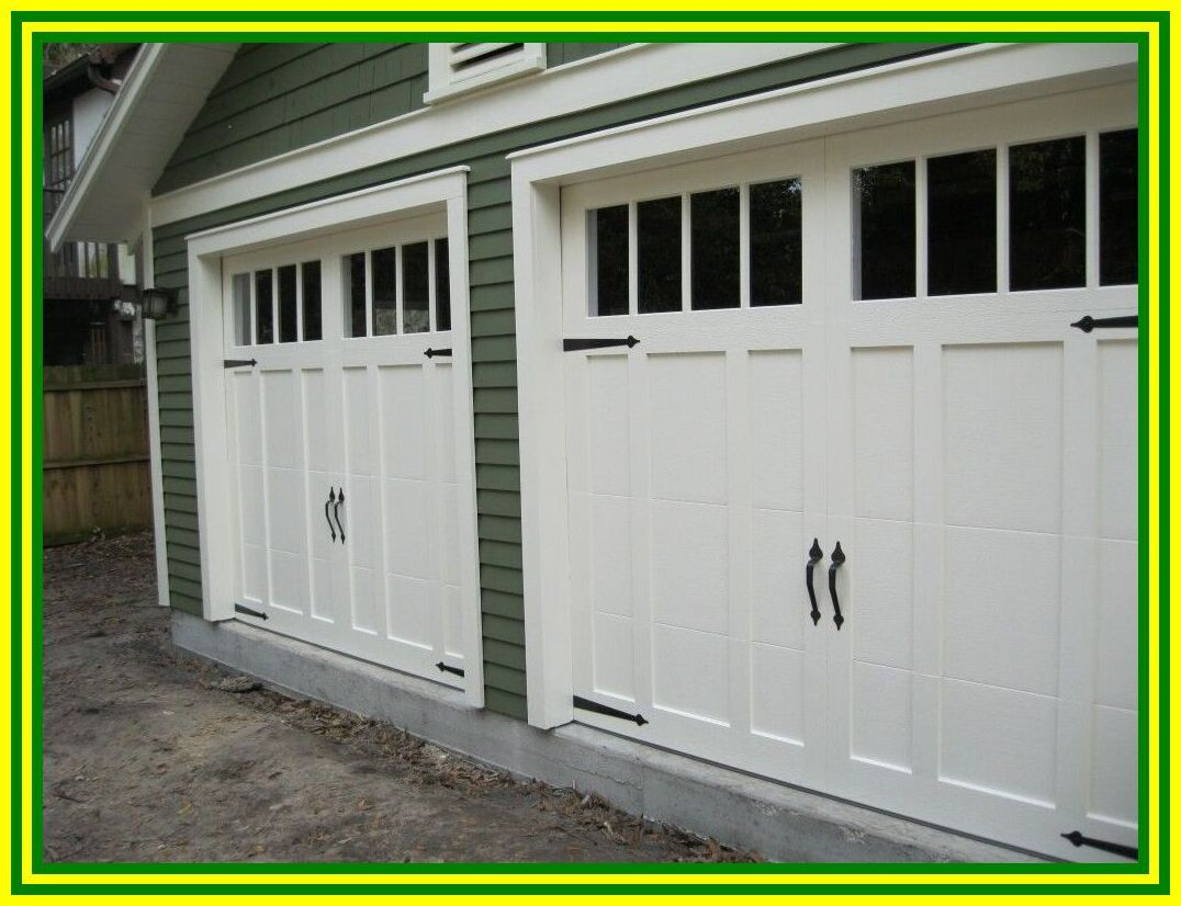 37 Reference Of Garage Door Small Craftsman Style In 2020 Carriage Style Garage Doors Craftsman Style Garage Doors Garage Door Styles