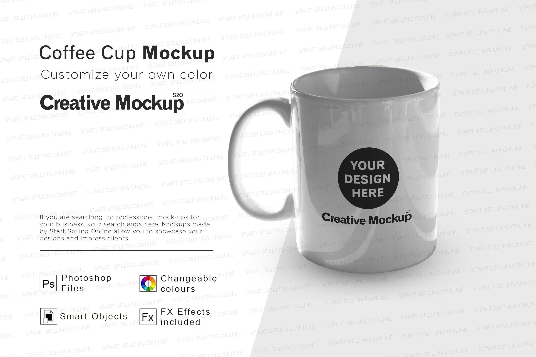 Coffee Mug Mockup High Resolution Smart Objects