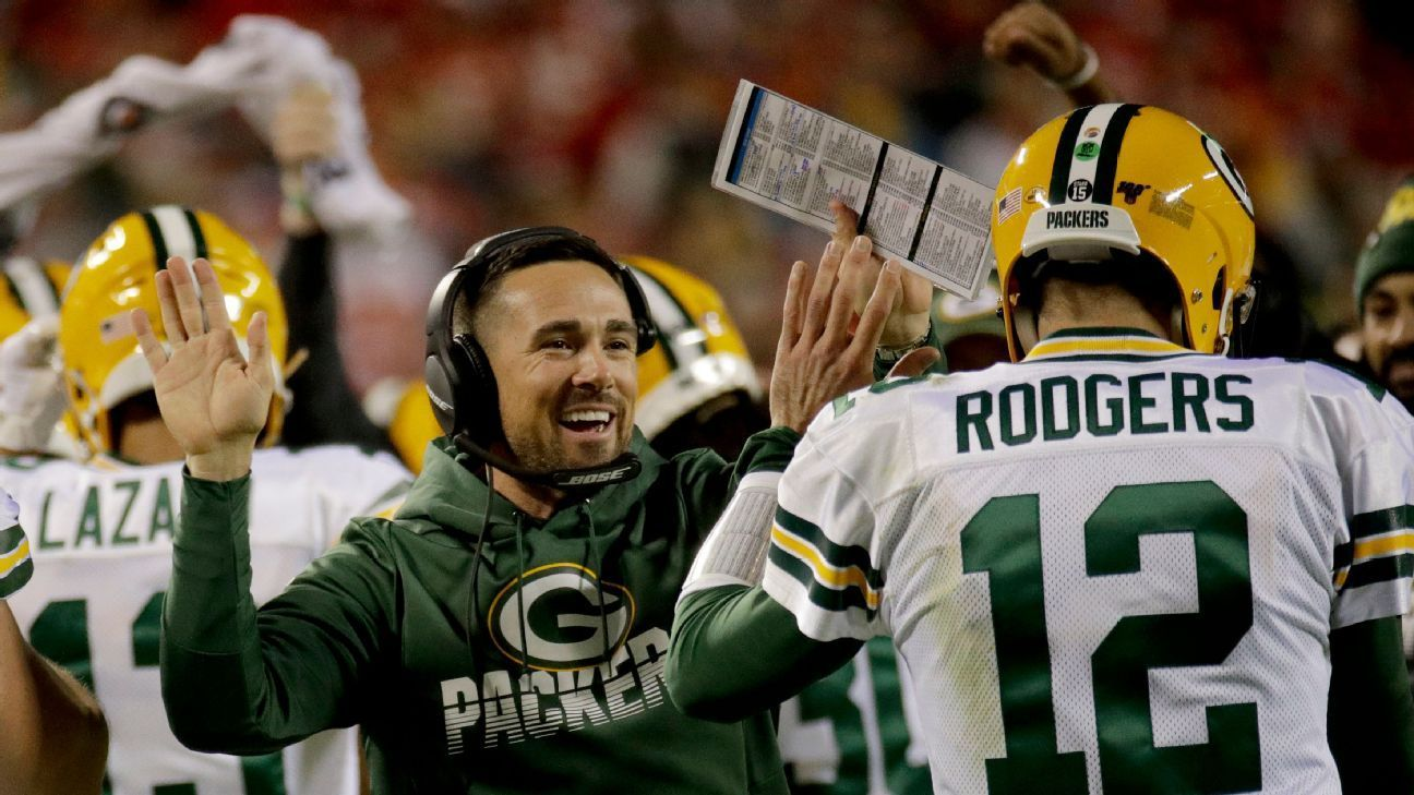Tough Guy Players Coach Packers Matt Lafleur Balancing Both In First Season Nfl News Nfl Tough Guy